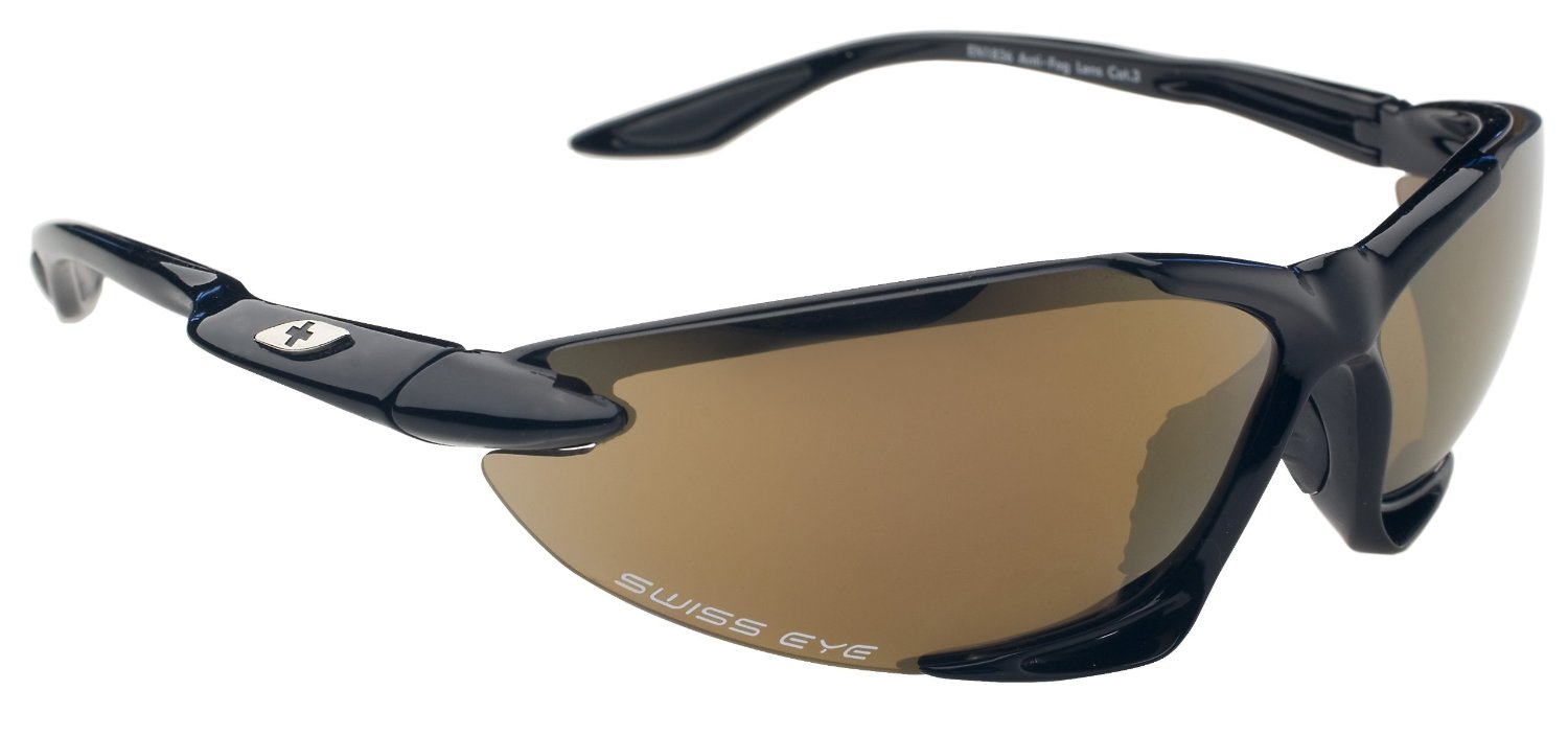 Swiss Eye Sportbrille Skyhawk, black shiny
